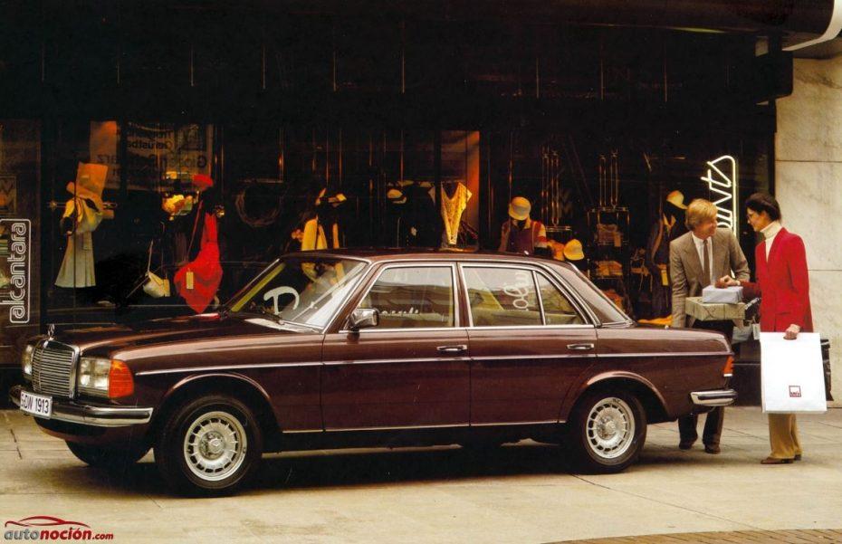 Mercedes-Benz W123: ¿Sabías que el primer Clase E nació en 1976 y fue todo un éxito de ventas?