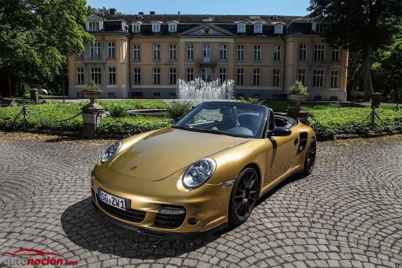 Wimmer adereza el bóxer de seis cilindros del Porsche 911 Turbo Cabrio… ¡Hasta los 828 CV!