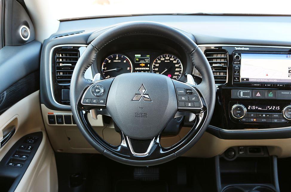 Prueba Mitsubishi Outlander 45
