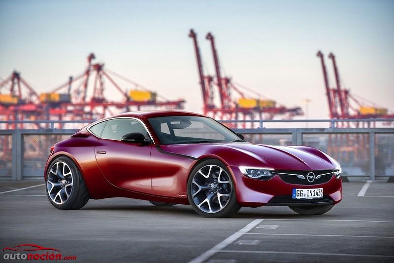 Render Opel GT