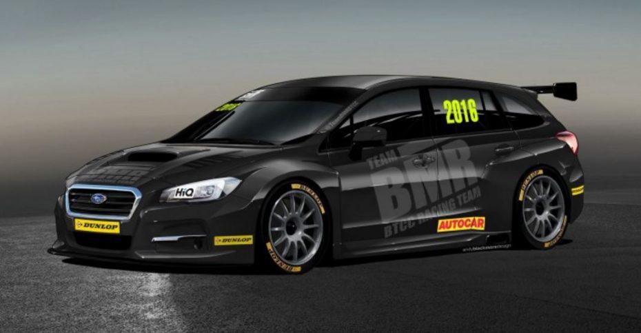 El último vehículo deportivo de Subaru se basa en el nuevo Levorg y debutará en el BTCC