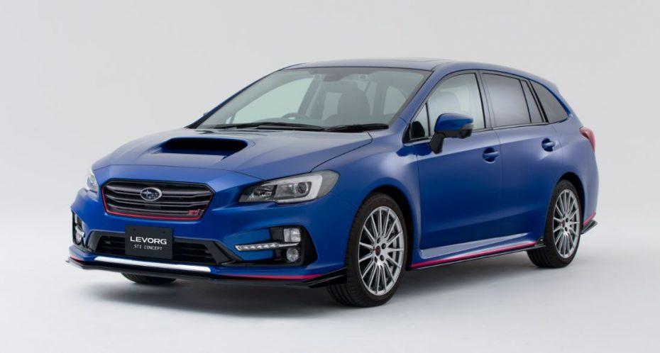 Así es el Subaru LEVORG STI Concept: ¿Un coche de rally para toda la familia?
