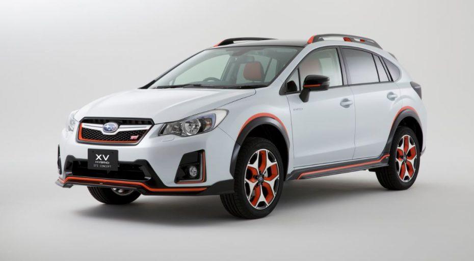 Subaru XV Hybrid STI Concept: Sí, has leído bien, híbrido y STI…