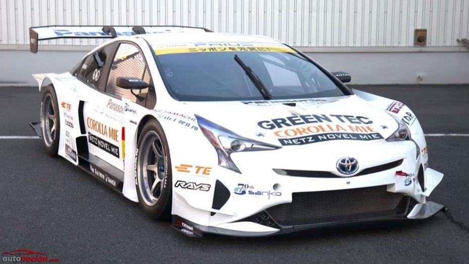 El Toyota Prius también quiere arrasar en los circuitos: Te presentamos la versión GT300 del modelo