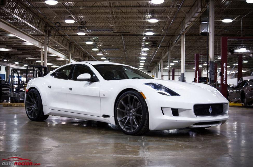 VLF Destino: Un Fisker Karma con el poderoso motor V8 del Corvette ZR1