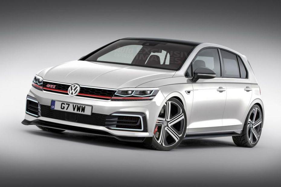 El Volkswagen Golf MK8 llegará dispuesto a arrasar: Hasta 420 CV de serie y una estética imponente