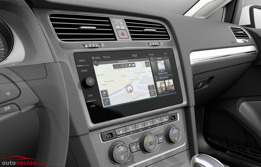 Volkswagen e-Golf Touch: El sistema multimedia con control gestual llegará con el próximo Golf