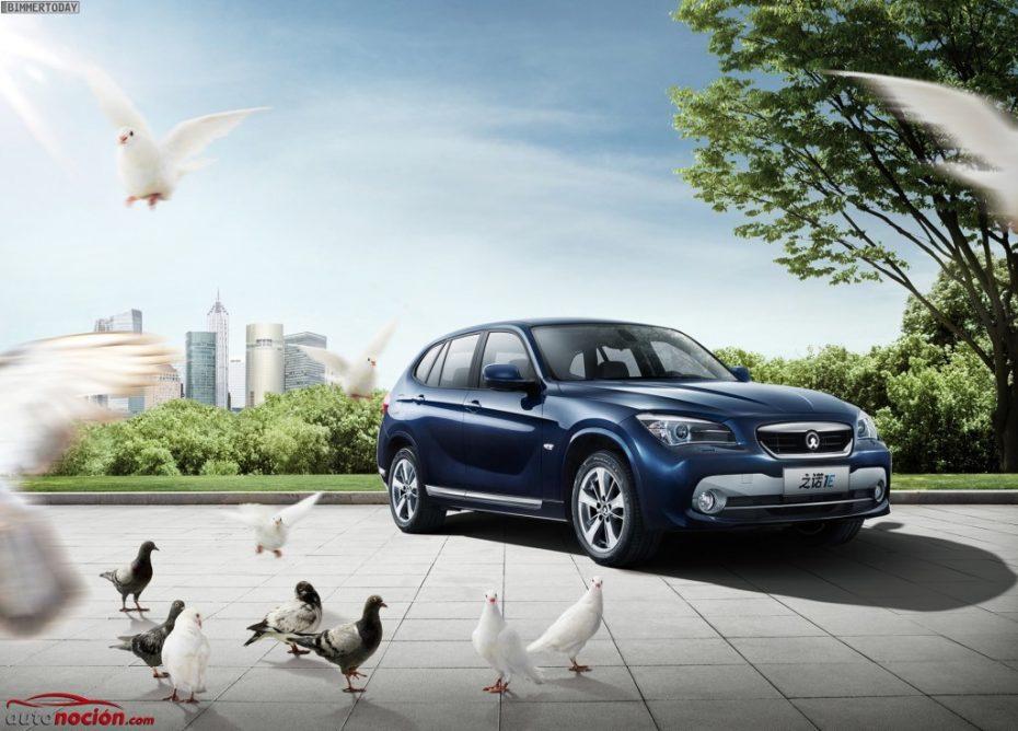 Zinoro 1E: El BMW X1 eléctrico 'made in China' se pasea por las calles de Múnich ¿Va a llegar a Europa?
