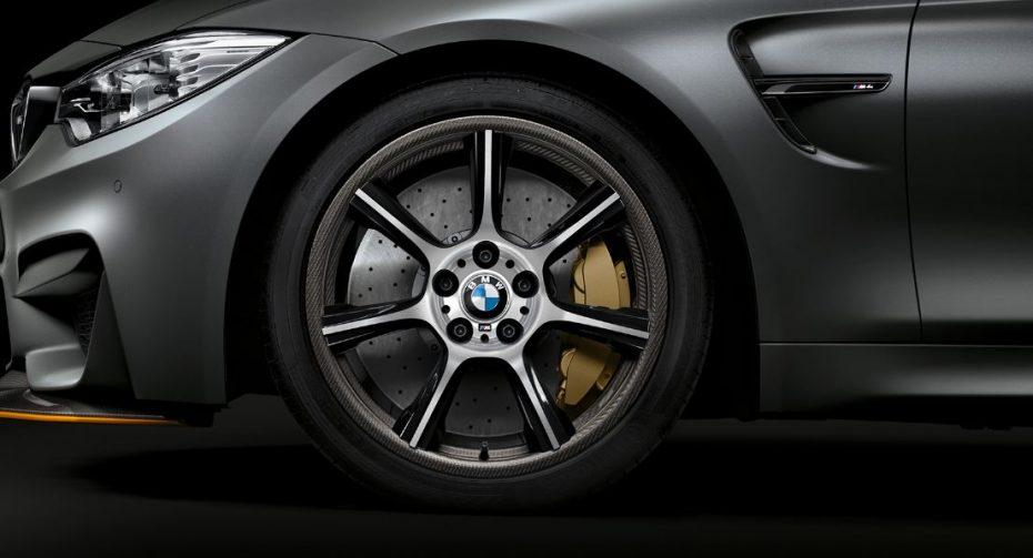 Llantas M Carbon Compound: Sí, los zapatos del  BMW M4 GTS son una pasada
