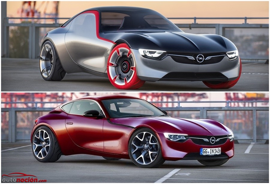 Disfrutamos del Opel GT Concept, soñamos con su versión de producción