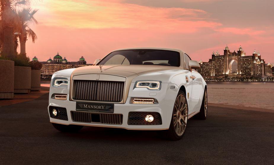 Rolls Royce Wraith Palm Edition 999: Oro, fibra de carbono y un V12 poco señorial