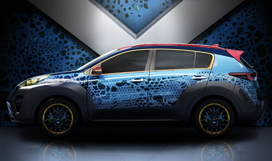 sportage x men car 2