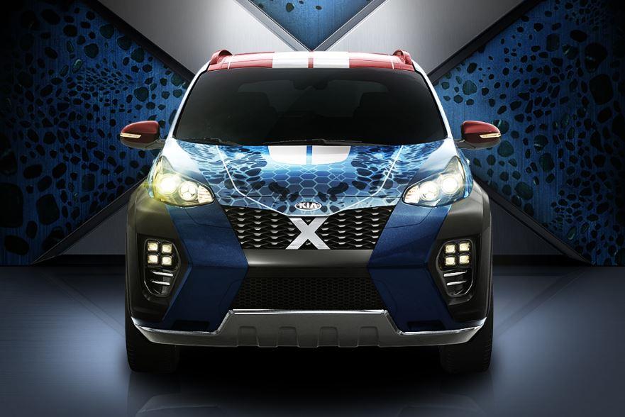 Así es el nuevo Kia Sportage inspirado en X-Men: El coche promo de Apocalipsis