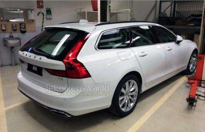 ¡Cazado!, así es el Volvo V90: La variante familiar cada vez más cerca