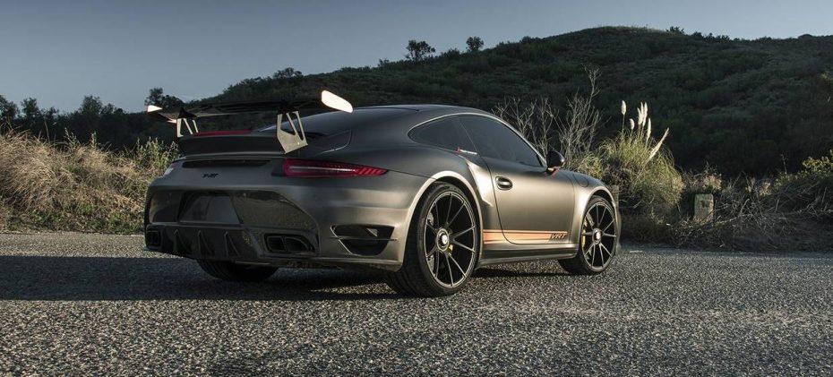 Vorsteiner V-RT Edition: El Porsche 911 Turbo S mejora su aspecto