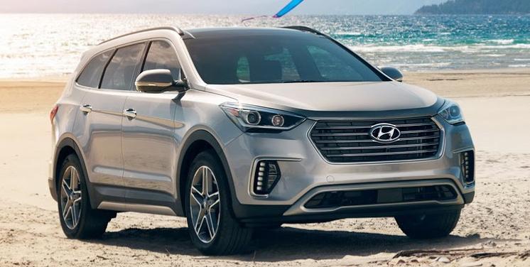 El Hyundai Grand Santa Fe recibe su primer lavado de cara