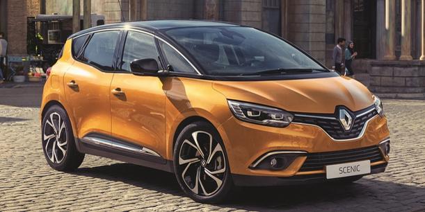 Filtrada la primera imagen del nuevo Renault Scénic