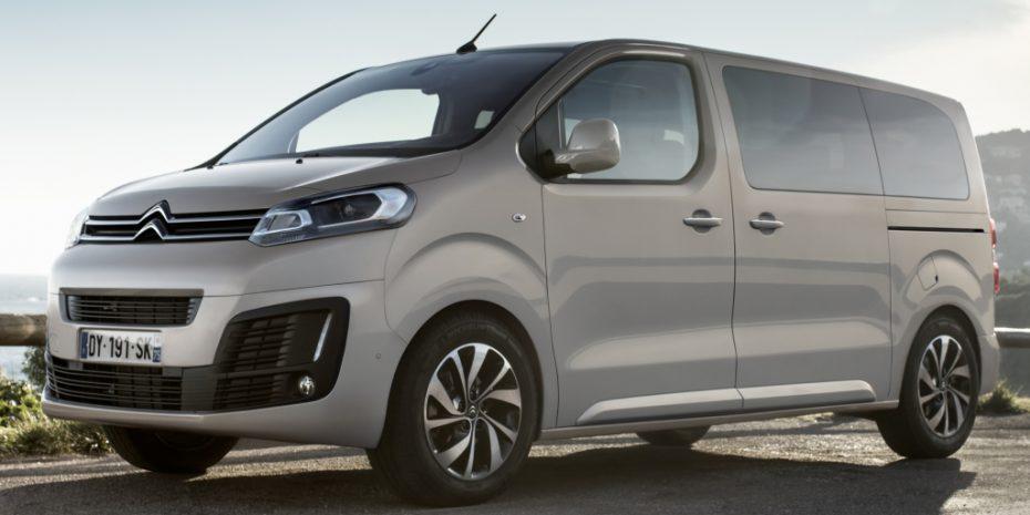 Más información del nuevo Citroën Spacetourer: Hasta 180 CV de potencia