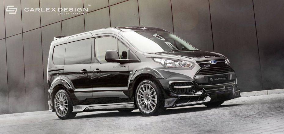 Si tienes un Ford Transit Connect seguro que quieres este imponente kit de Carlex Design