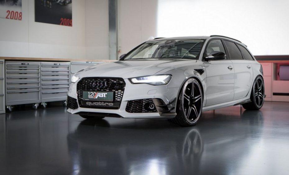 ABT ofrece un Audi RS6 realmente especial y especiado, limitado a 12 unidades…