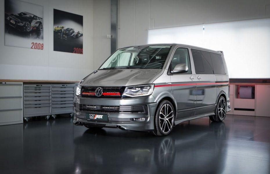 Si el «Equipo A» se fundase hoy día, la Volkswagen T6 de ABT sería su furgo…