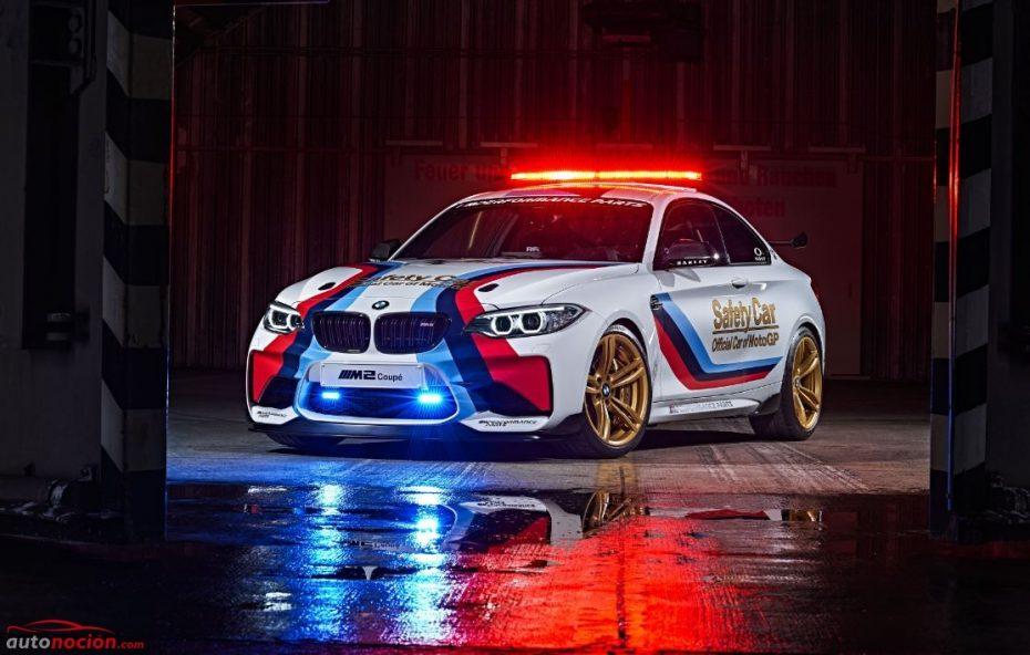 El BMW M2 Coupé más radical, directo al Moto GP: ¿Es el Safety Car más bonito de la historia?