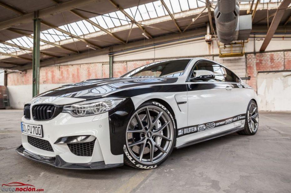 BMW M4R: Cuando Carbonfiber Dynamics se ríe del BMW M4 GTS en el circuito