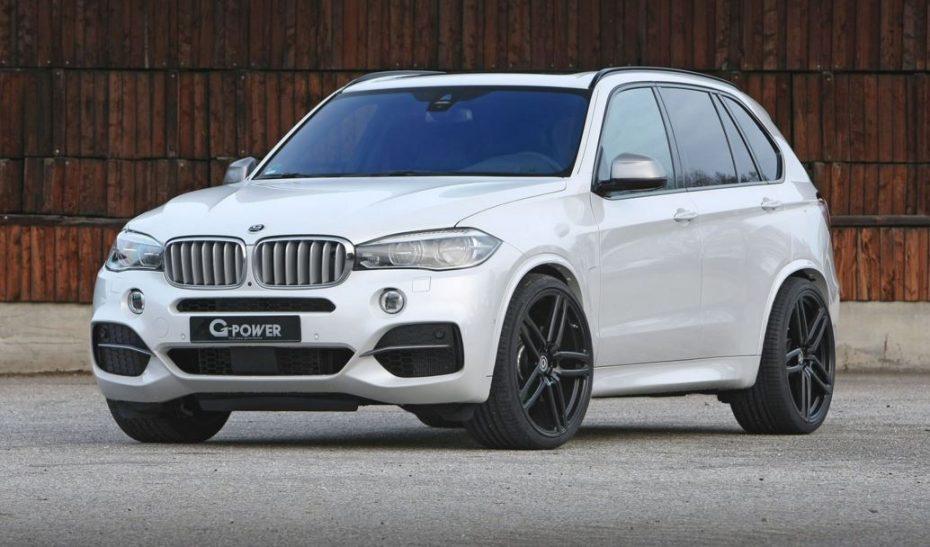 ¡Discreto pero contundente! Más de 450 CV para el BMW X5 M50d de G-Power