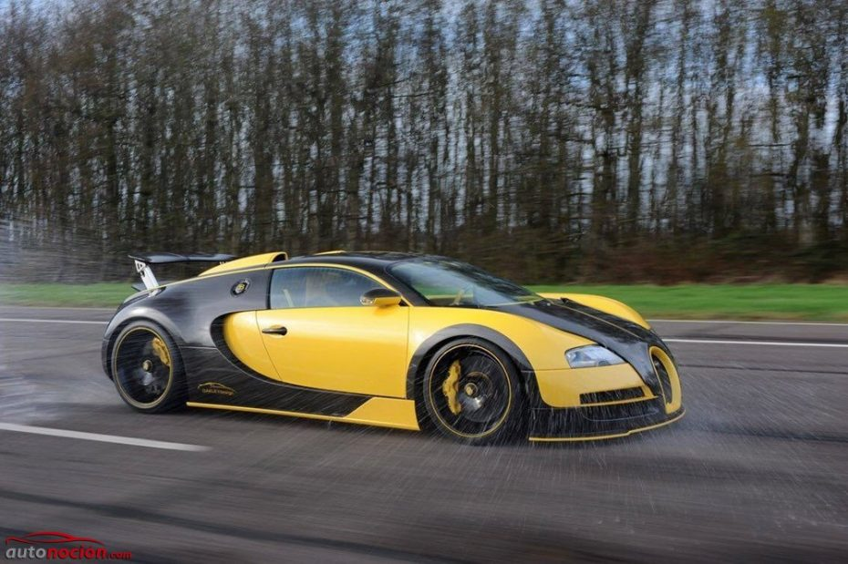 Oakley Design te presenta al Veyron más salvaje que hayas visto jamás ¡Es todo fibra!