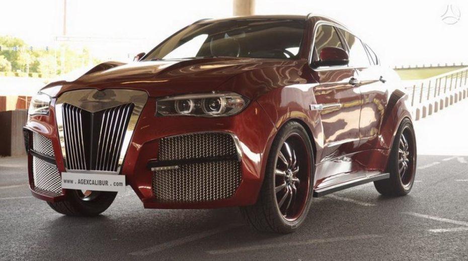 Saluda al BMW X6 más feo del mundo: se llama AG Alligator y cuesta más de lo que pagarías por él