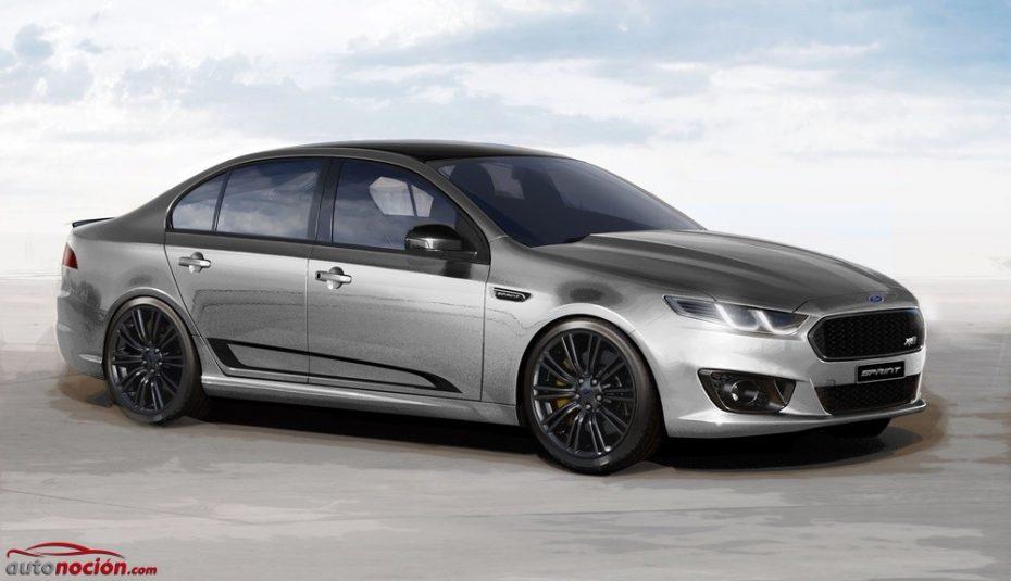 Ford Falcon Sprint: Hasta 536 CV para despedir al sedán ¡Envidia de australianos!