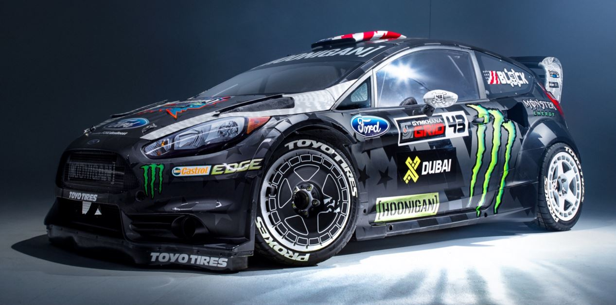 650 cv para el ford fiesta st rx43 de la gymkhana 8 2016. Black Bedroom Furniture Sets. Home Design Ideas