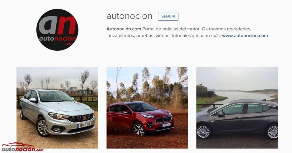 ¡En Autonoción.com estrenamos perfil de Instagram! ¿Aún no nos sigues?