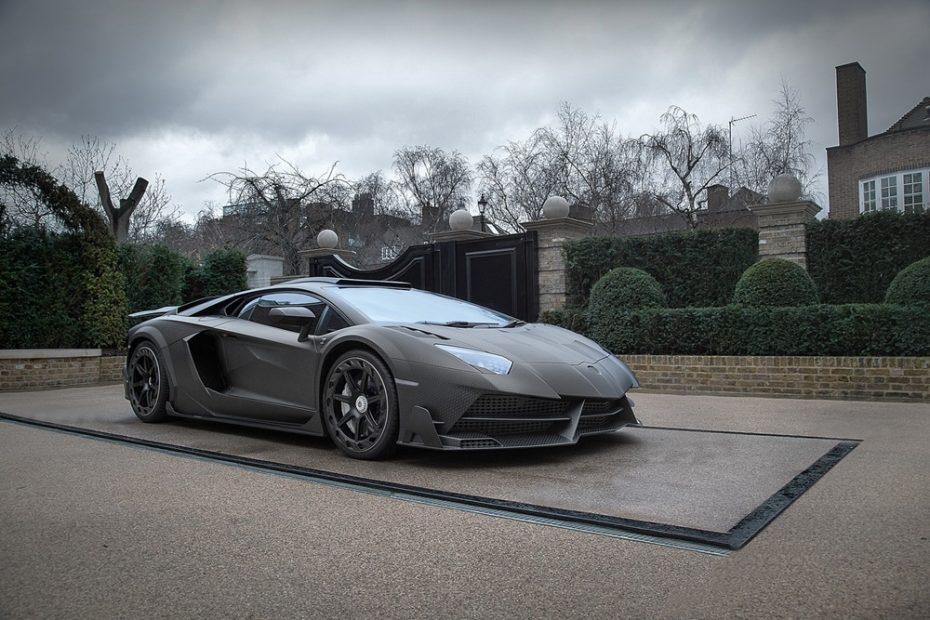 Lamborghini Aventador Superveloce J.S. 1 Edition: Una bestia única trajeada con fibra de carbono