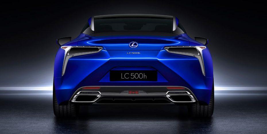Parece un concept pero no lo es: El Lexus LC 500h con Multi Stage Hybrid System es un híbrido de alto rendimiento