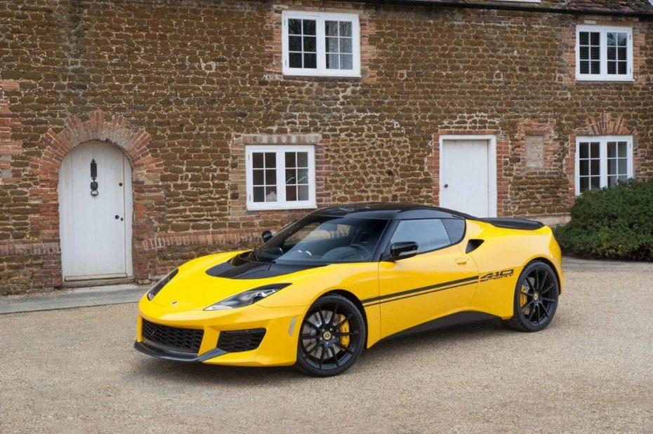 Lotus Evora Sport 410: Menos peso y más potencia para el juguete británico definitivo