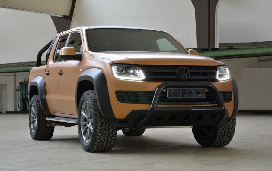 Volkswagen Amarok V8 Passion Desert: El V8 de un A8 y mucho lustre te costará 200.000 euros