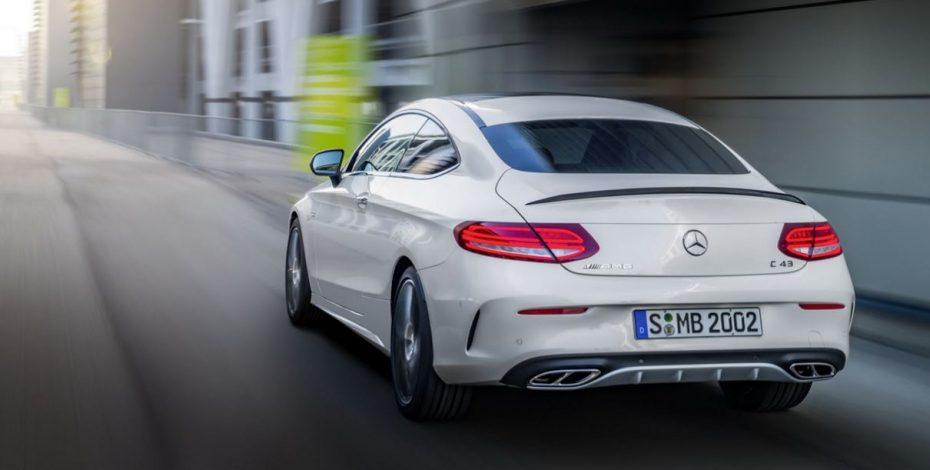 Mercedes-AMG C 43 4MATIC Coupé: El «43» también es buen número con el V6 biturbo…