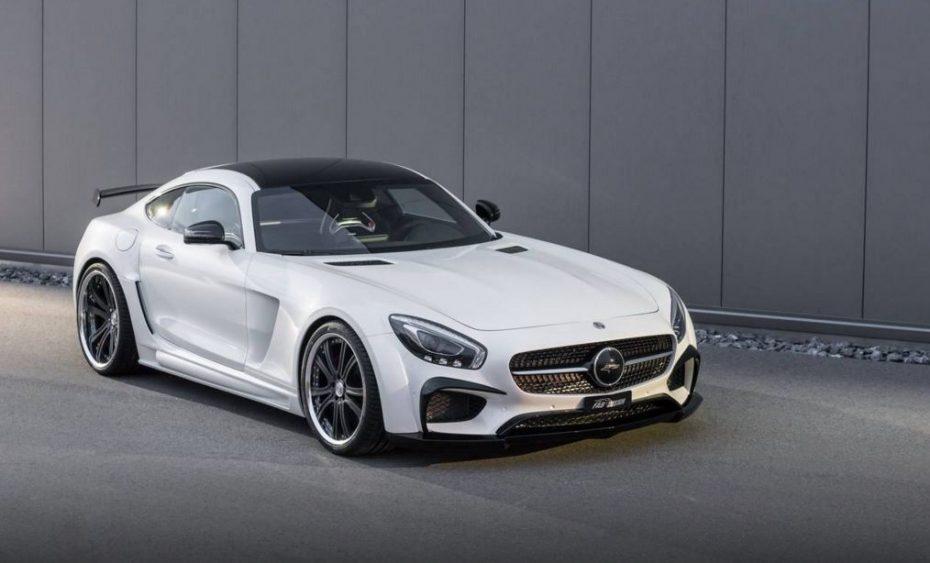 FAB Design adereza el Mercedes-AMG GT S con nada menos que 190 CV y 375 Nm de par extra