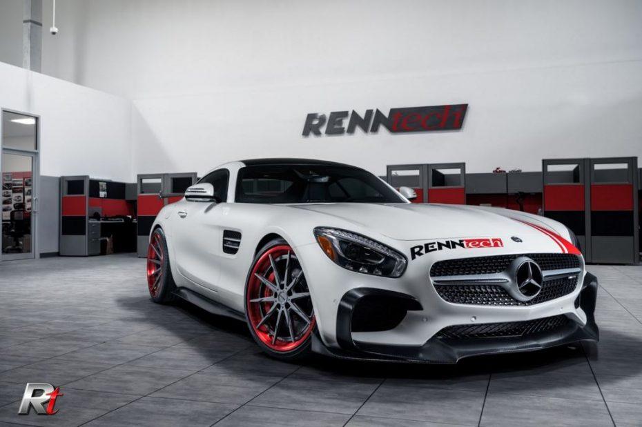 ¡Brutal! Por 10.000 euros Renntech adereza tu Mercedes-AMG GT S con 264 CV extra