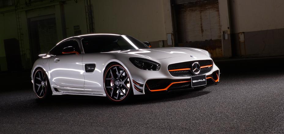 No apto para discretos: Atento a la salvaje propuesta de Wald para el Mercedes-AMG GT