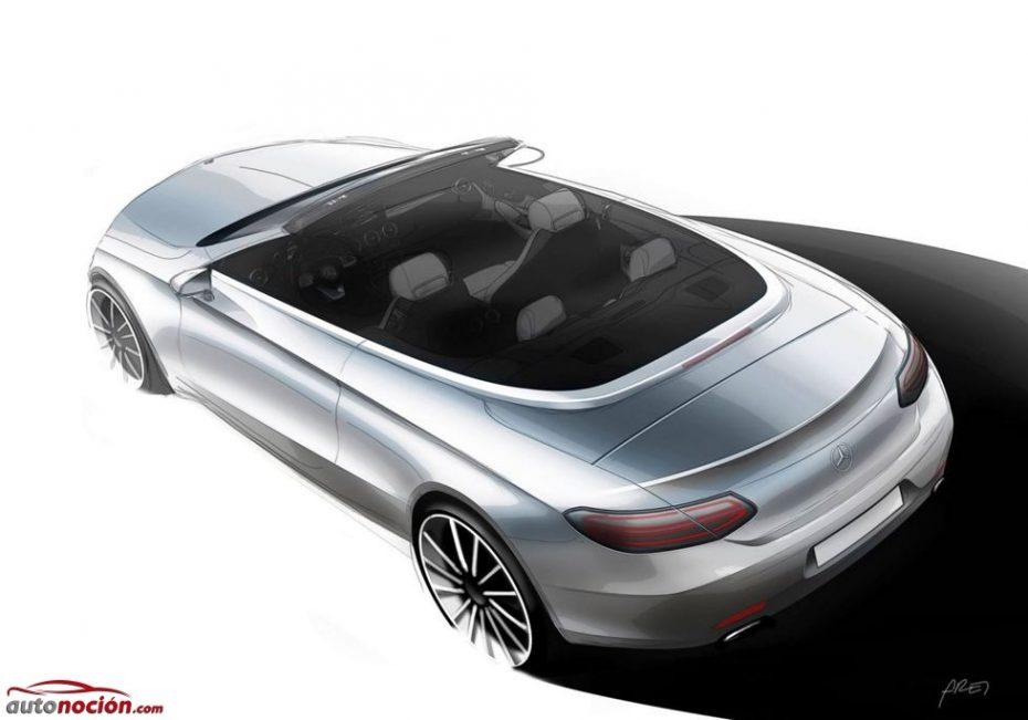El Mercedes-Benz Clase C Cabrio hace su primera aparición en la red: Directo a Ginebra