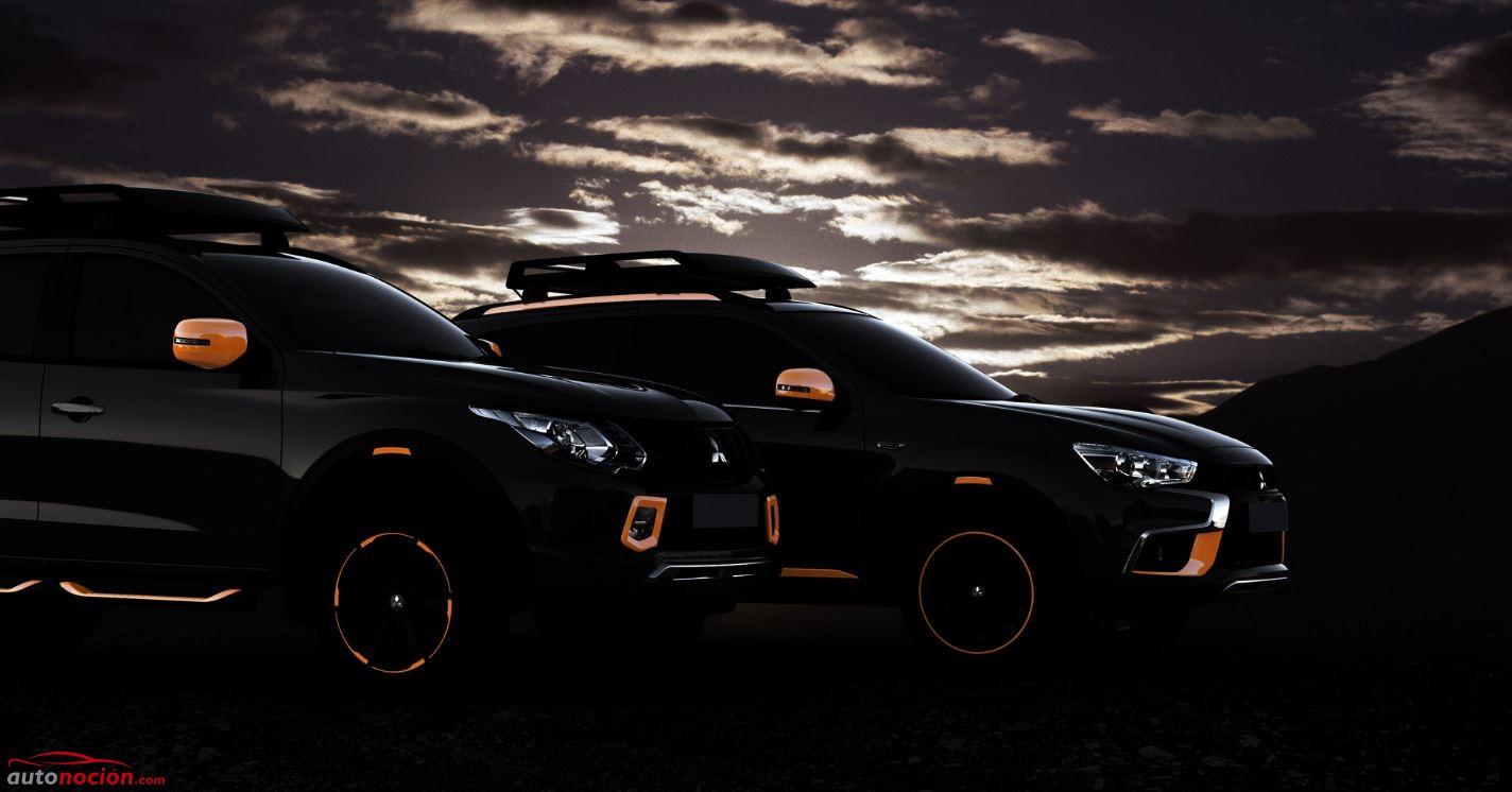 Mitsubishi L200 y ASX Concept cars