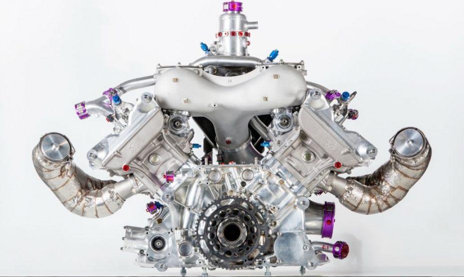 ¿Conocías la mecánica V4 turbo de Porsche?, pues ahora nos la muestran en detalle