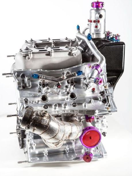Motor V4 Porsche 2