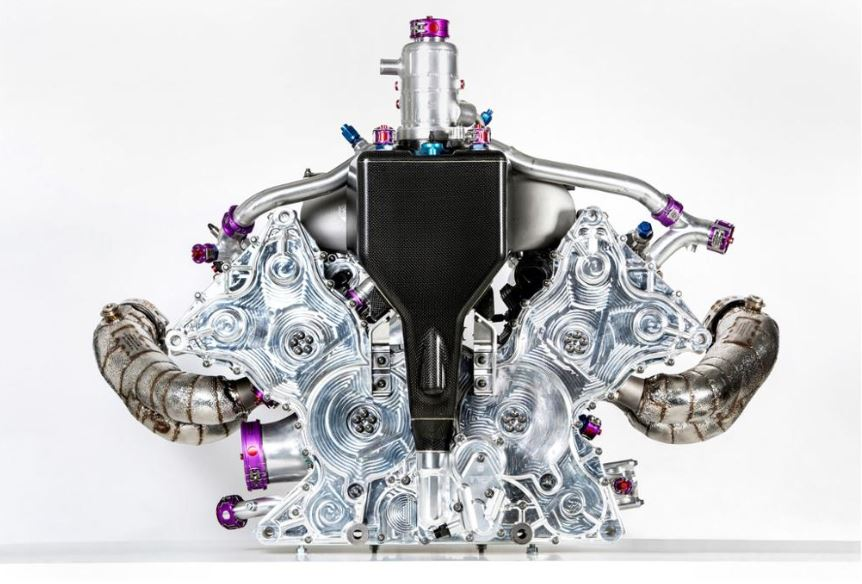 Motor V4 Porsche 3