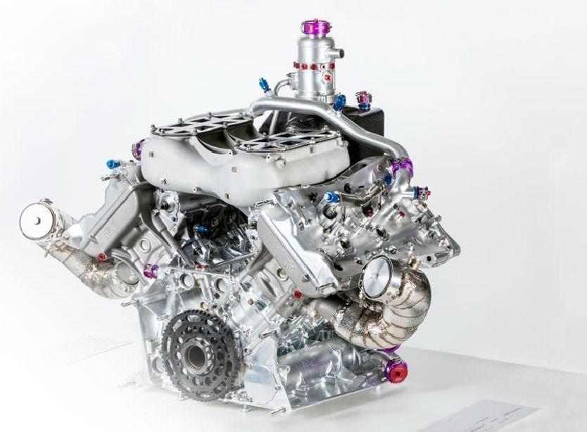 Motor V4 Porsche 4