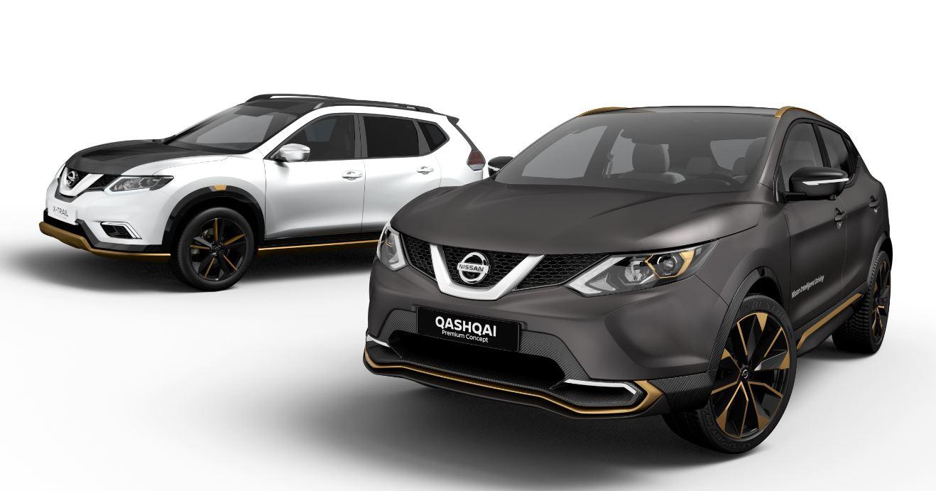 Nissan Qashqai y X-Trail Premium Concept (1)