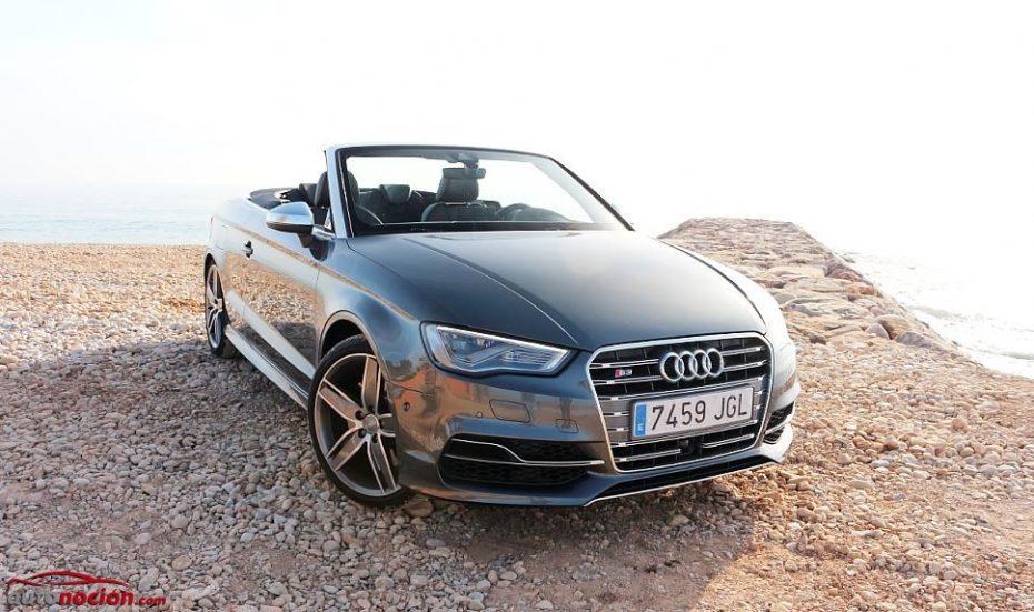 Prueba Audi S3 Cabrio 2.0 TFSI S tronic quattro: 300 CV para disfrutar a cielo abierto