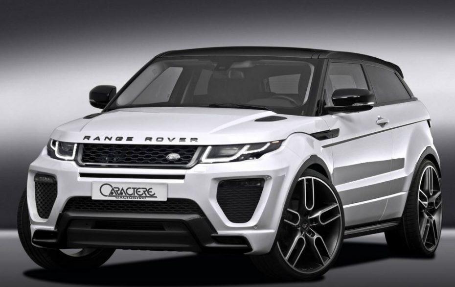 ¡Brutal! Caractere Exclusive nos muestra su provocativa apuesta para la gama Range Rover